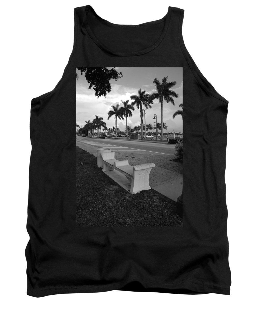 Black And White Tank Top featuring the photograph Lantana by Rob Hans