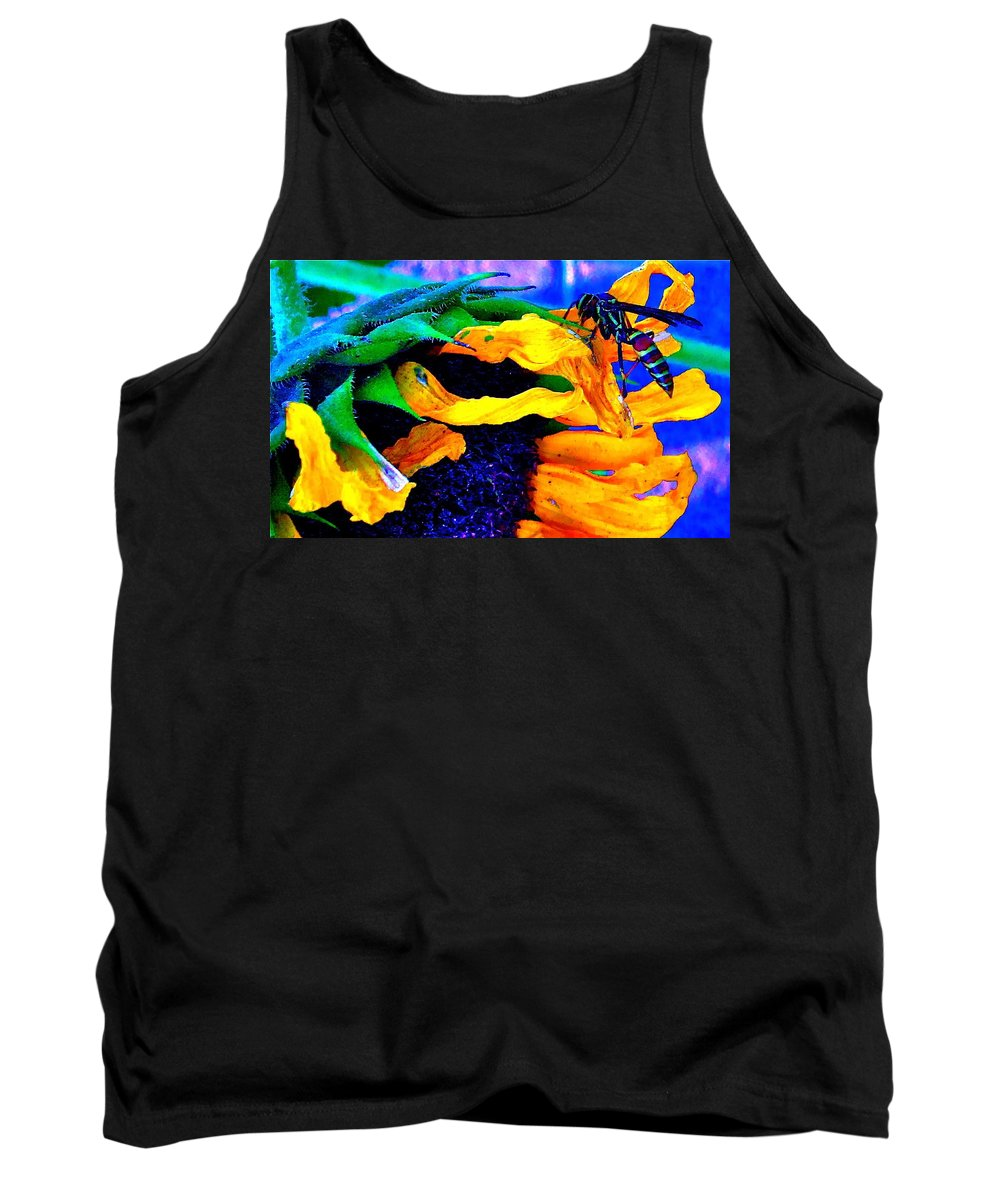 Photographs Tank Top featuring the photograph Last Supper by Gwyn Newcombe