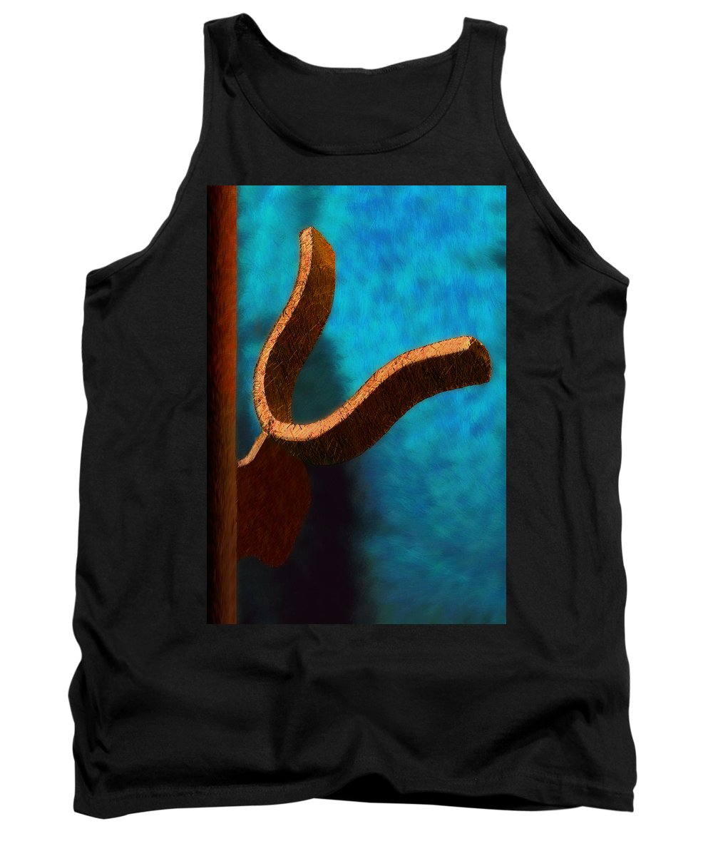 Photography Tank Top featuring the photograph Latch by Paul Wear