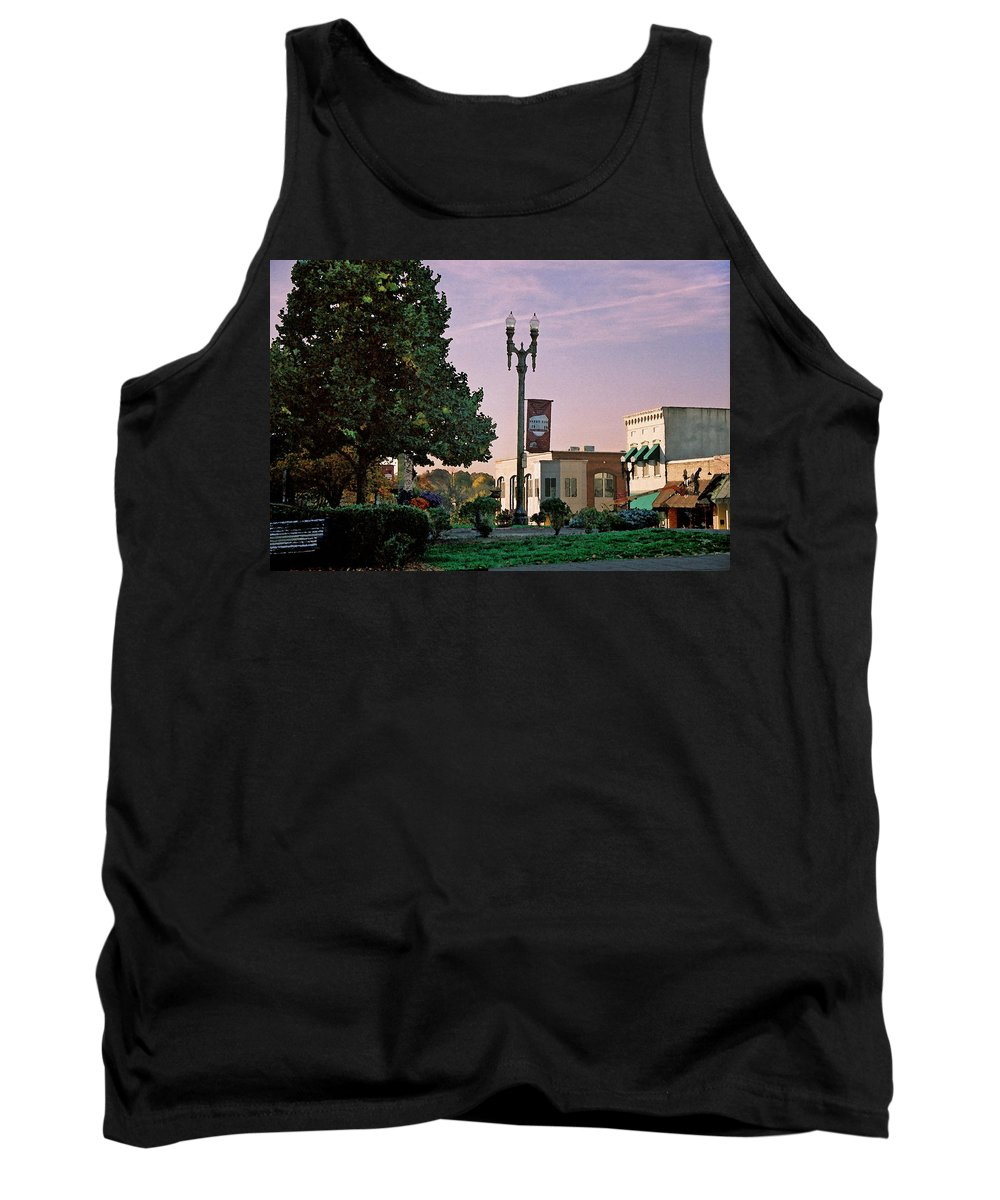 Landscape Tank Top featuring the photograph Late Sunday Afternoon by Steve Karol