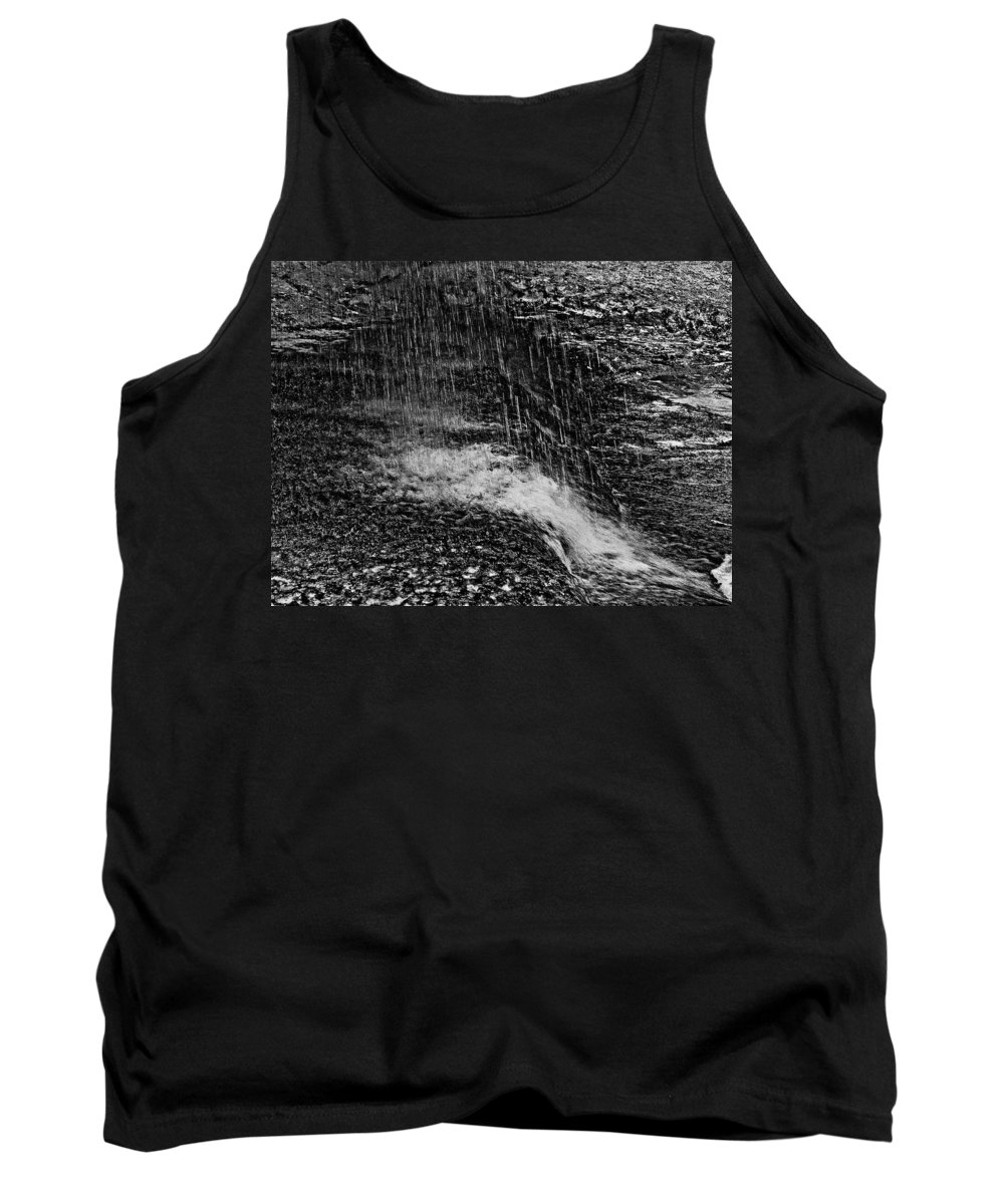Falls Tank Top featuring the photograph Lava Falls by Michael Bessler