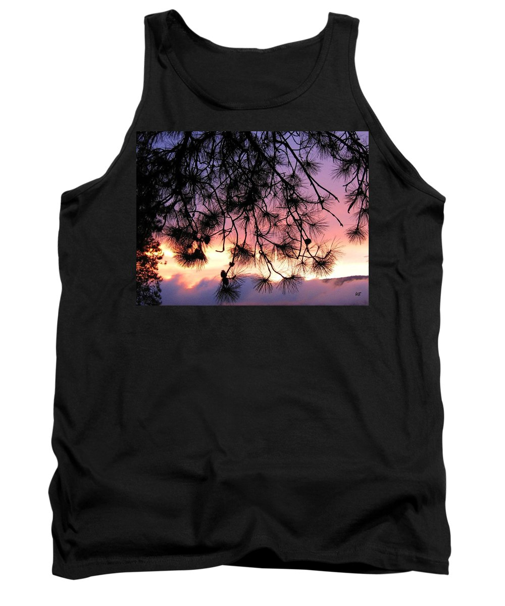 Sunset Tank Top featuring the photograph Lavender Sunset by Will Borden