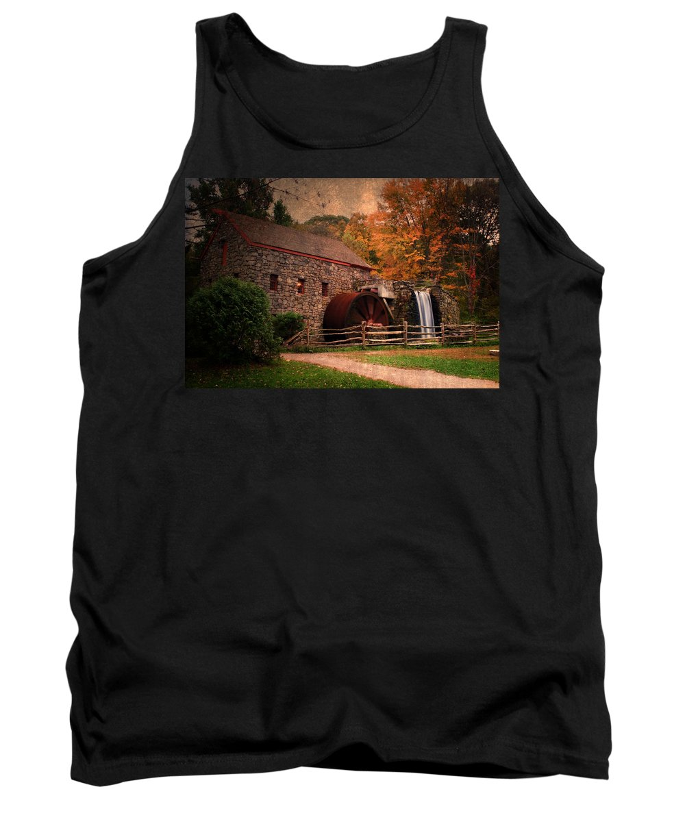 Mill Tank Top featuring the photograph Leave A Light On For Me by Renee Hong