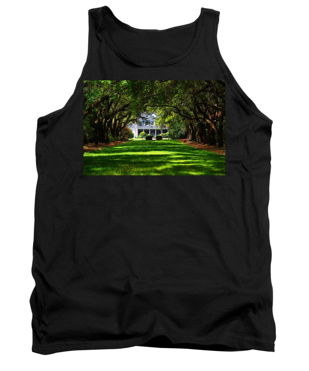 Photography Tank Top featuring the photograph Legare Waring House Charleston Sc by Susanne Van Hulst