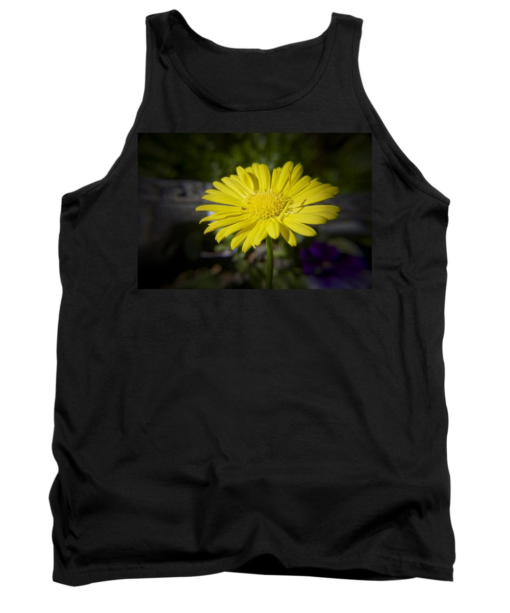 Leopard's Tank Top featuring the photograph Leopard's Bane by Teresa Mucha