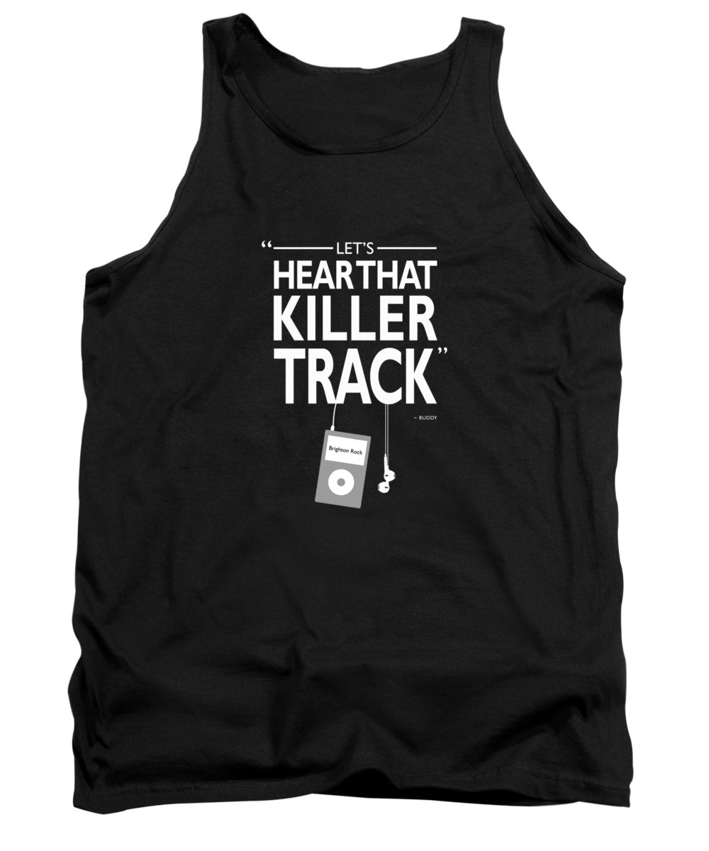 Baby Driver Tank Top featuring the photograph Lets Hear That Killer Track by Mark Rogan