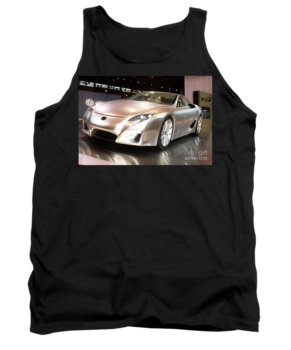 Aluminum Tank Top featuring the photograph Lf-a Driver by Alan Look