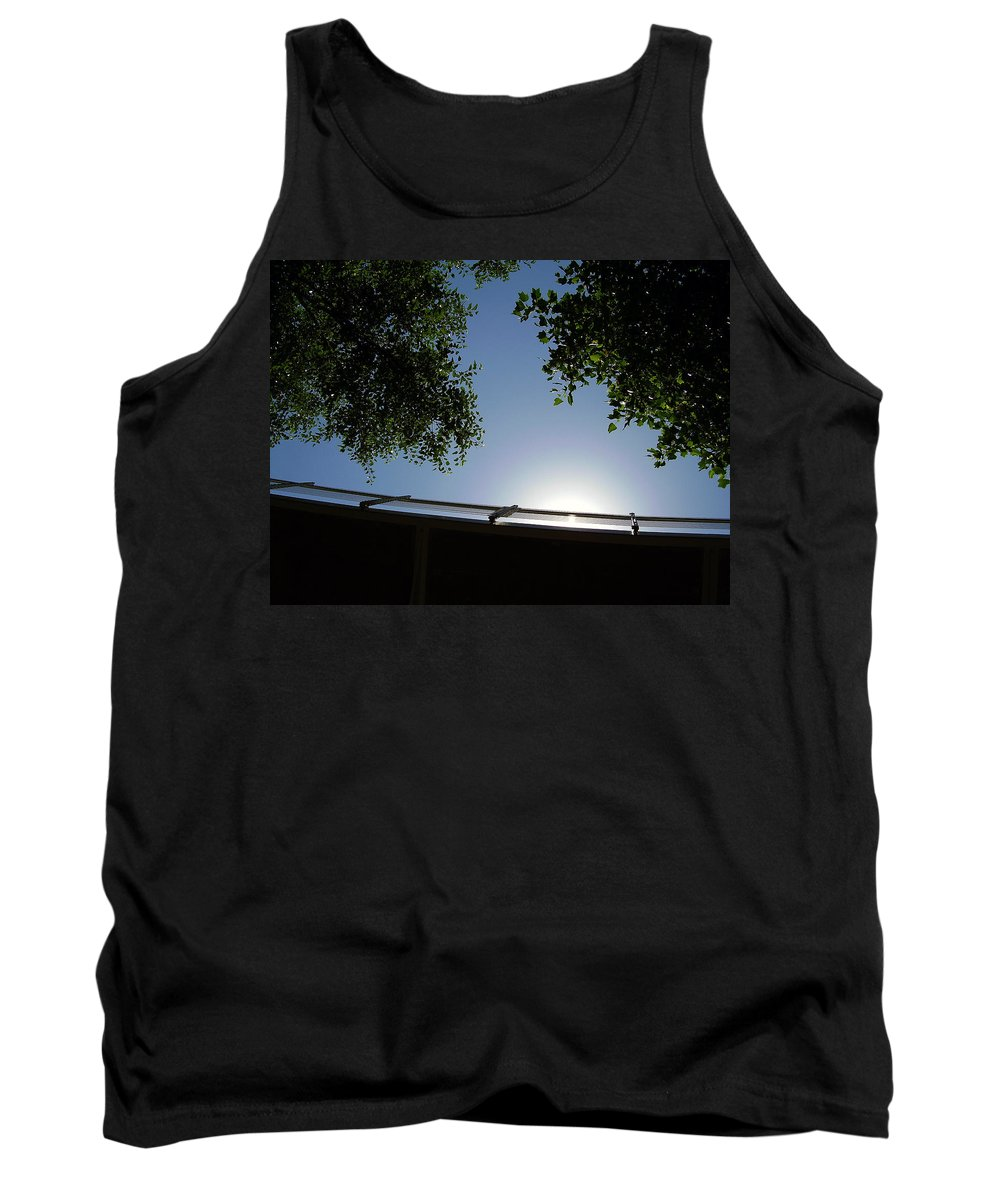 Liberty Bridge Tank Top featuring the photograph Liberty Bridge by Flavia Westerwelle