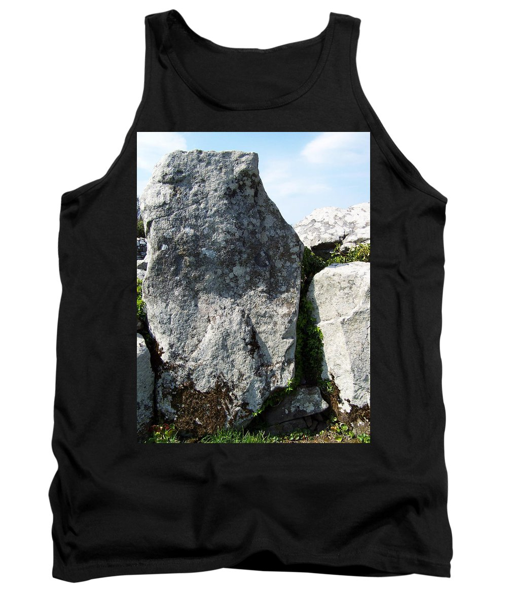 Irish Tank Top featuring the photograph Life At Creevykeel Court Cairn Sligo Ireland by Teresa Mucha
