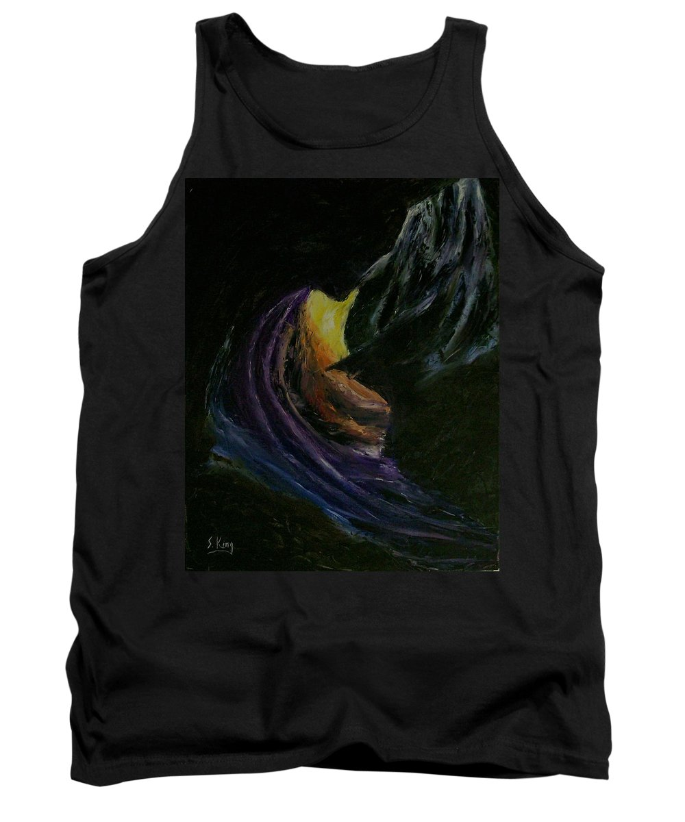 Tank Top featuring the painting Light Of Day by Stephen King
