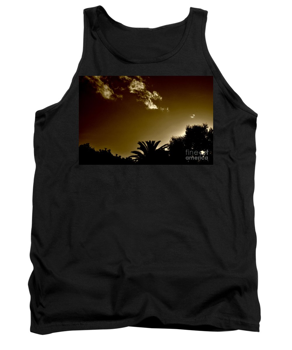 Clay Tank Top featuring the photograph Lights by Clayton Bruster