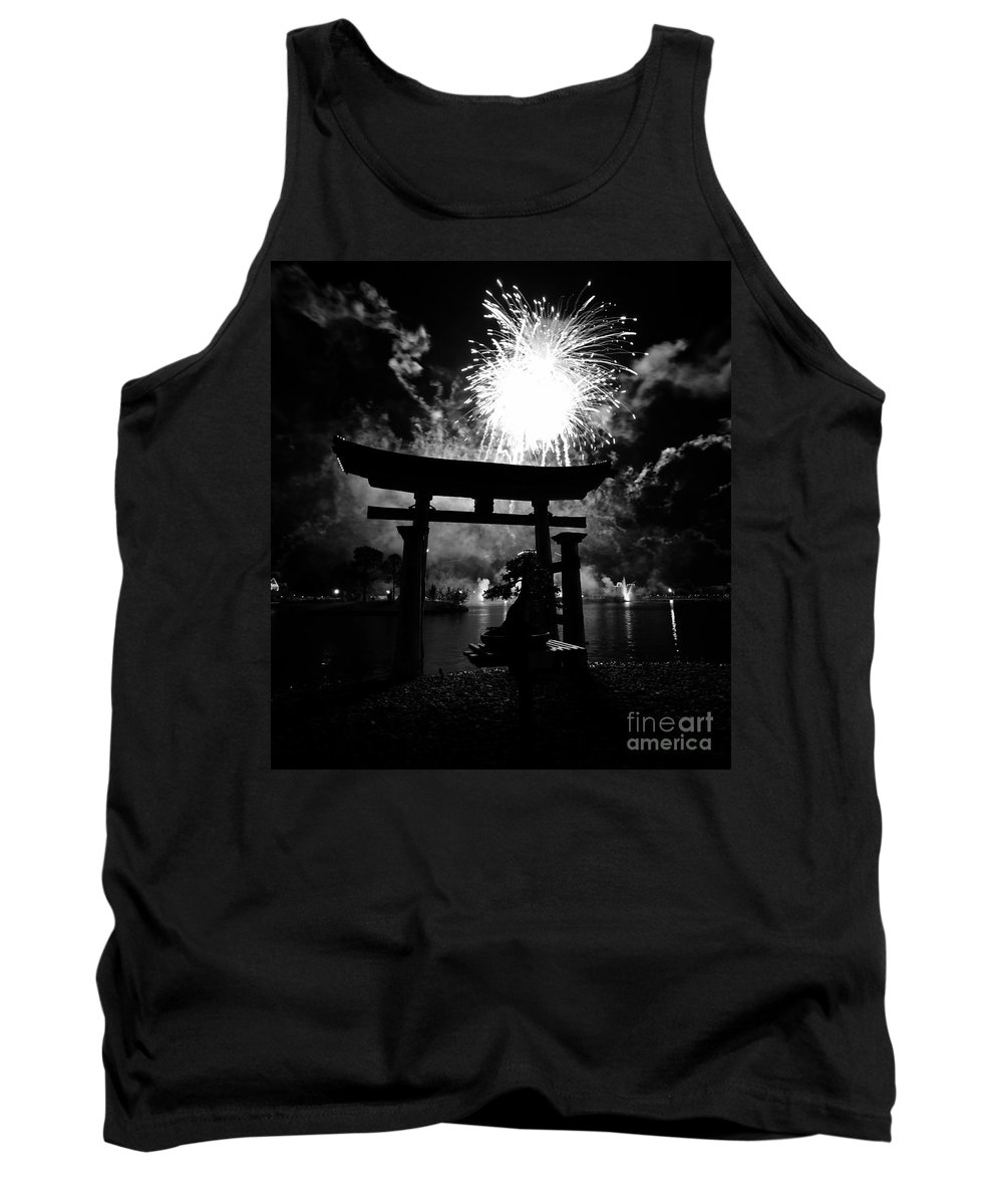 Japan Tank Top featuring the photograph Lights Over Japan by David Lee Thompson