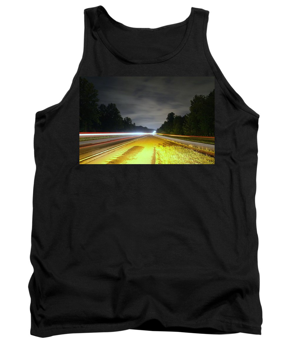 Landscape Tank Top featuring the photograph Lightworks by Alex Grichenko