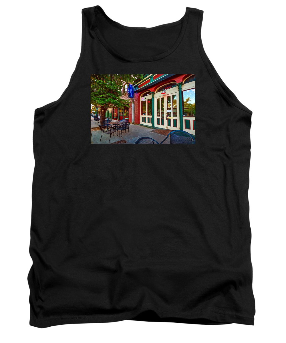 Mobile Tank Top featuring the painting Liquid In Mobile Alabama by Michael Thomas
