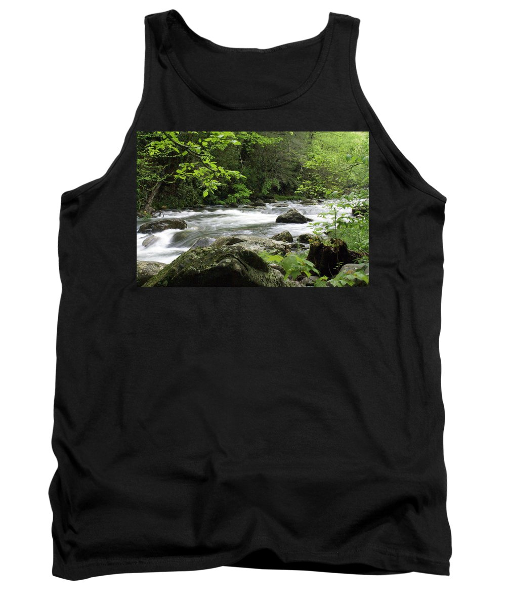 River Tank Top featuring the photograph Litltle River 1 by Marty Koch