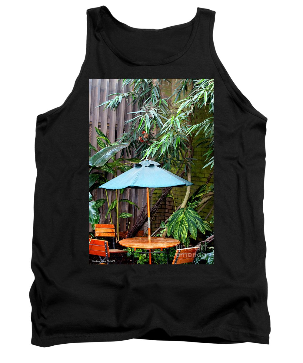 Photography Tank Top featuring the photograph Little Oasis by Shelley Jones