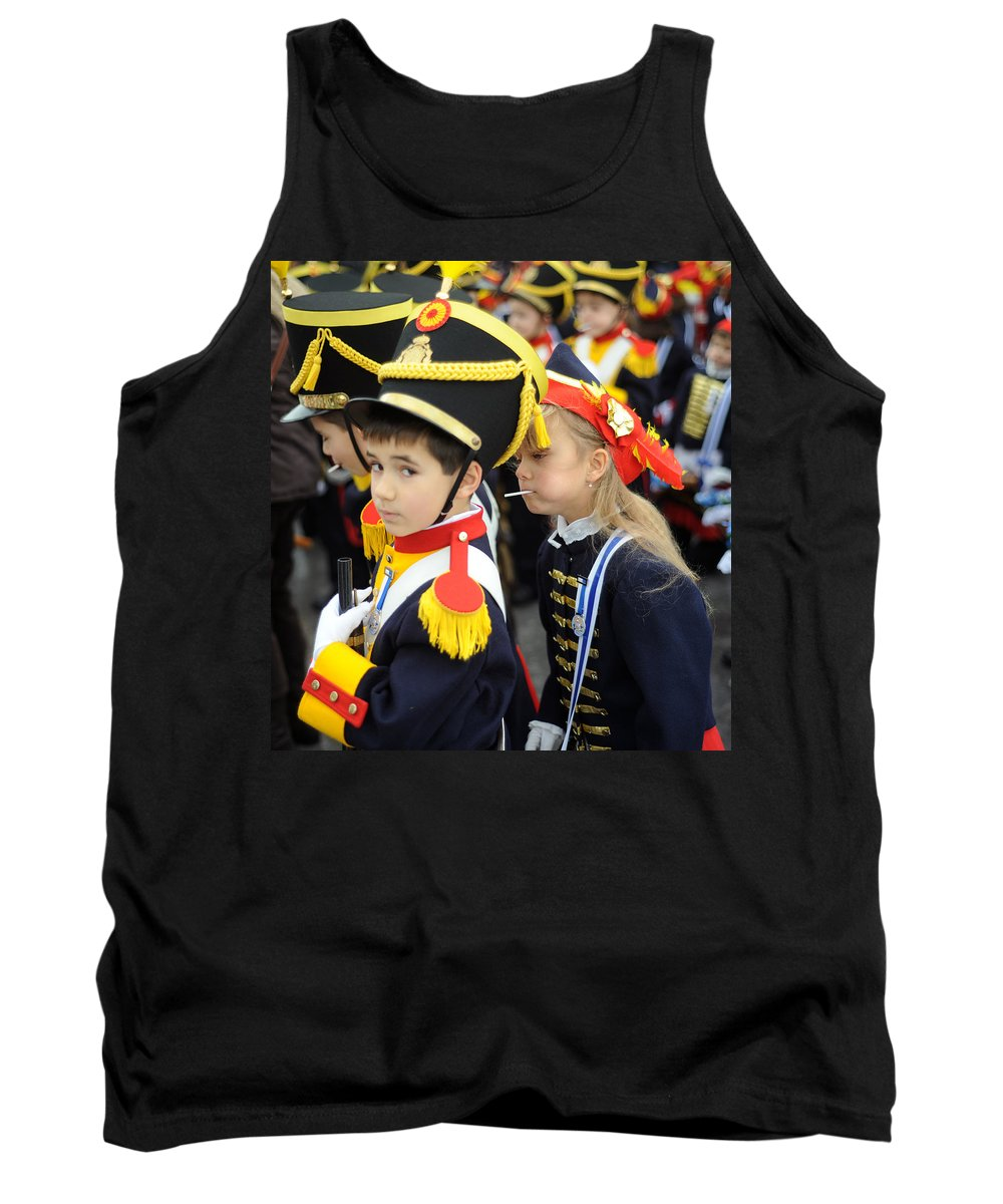 Spain Tank Top featuring the photograph Little Soldiers II by Rafa Rivas