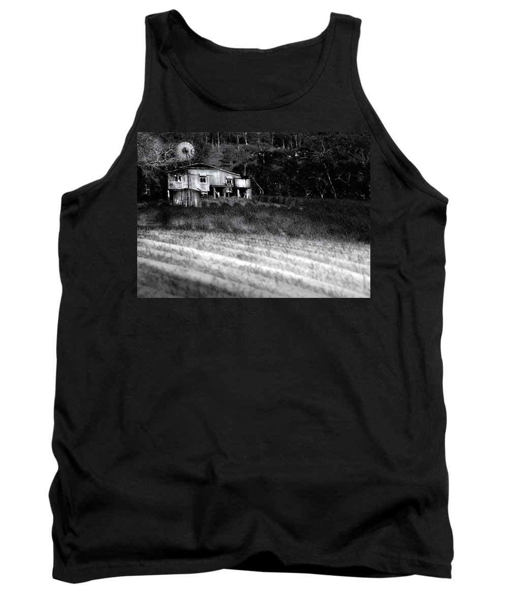 Landscapes Tank Top featuring the photograph Living On The Land by Holly Kempe