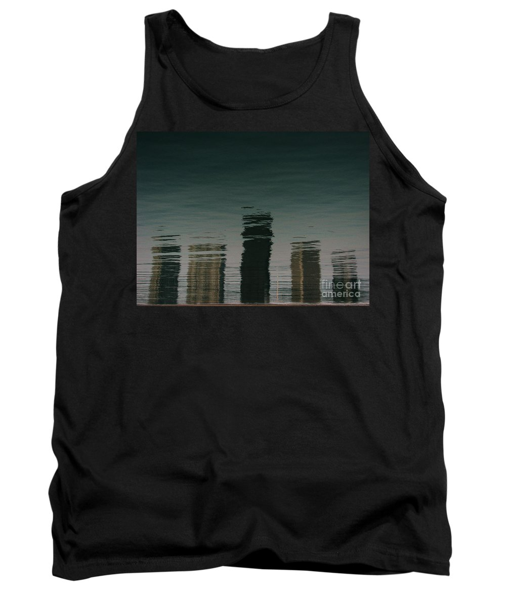 Lake Tank Top featuring the photograph Lonely Soul by Dana DiPasquale