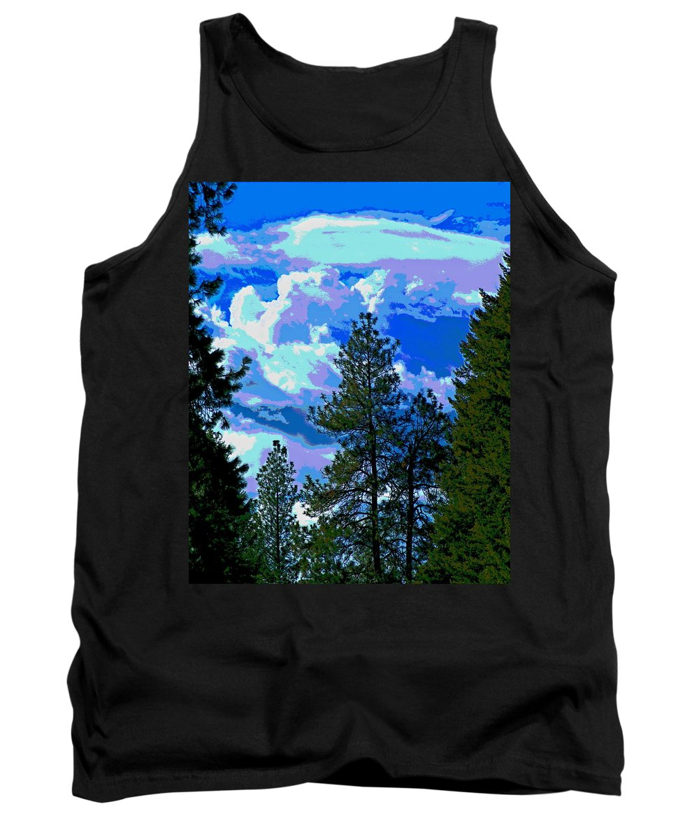Photo Art Tank Top featuring the photograph Look Into The Future by Ben Upham III