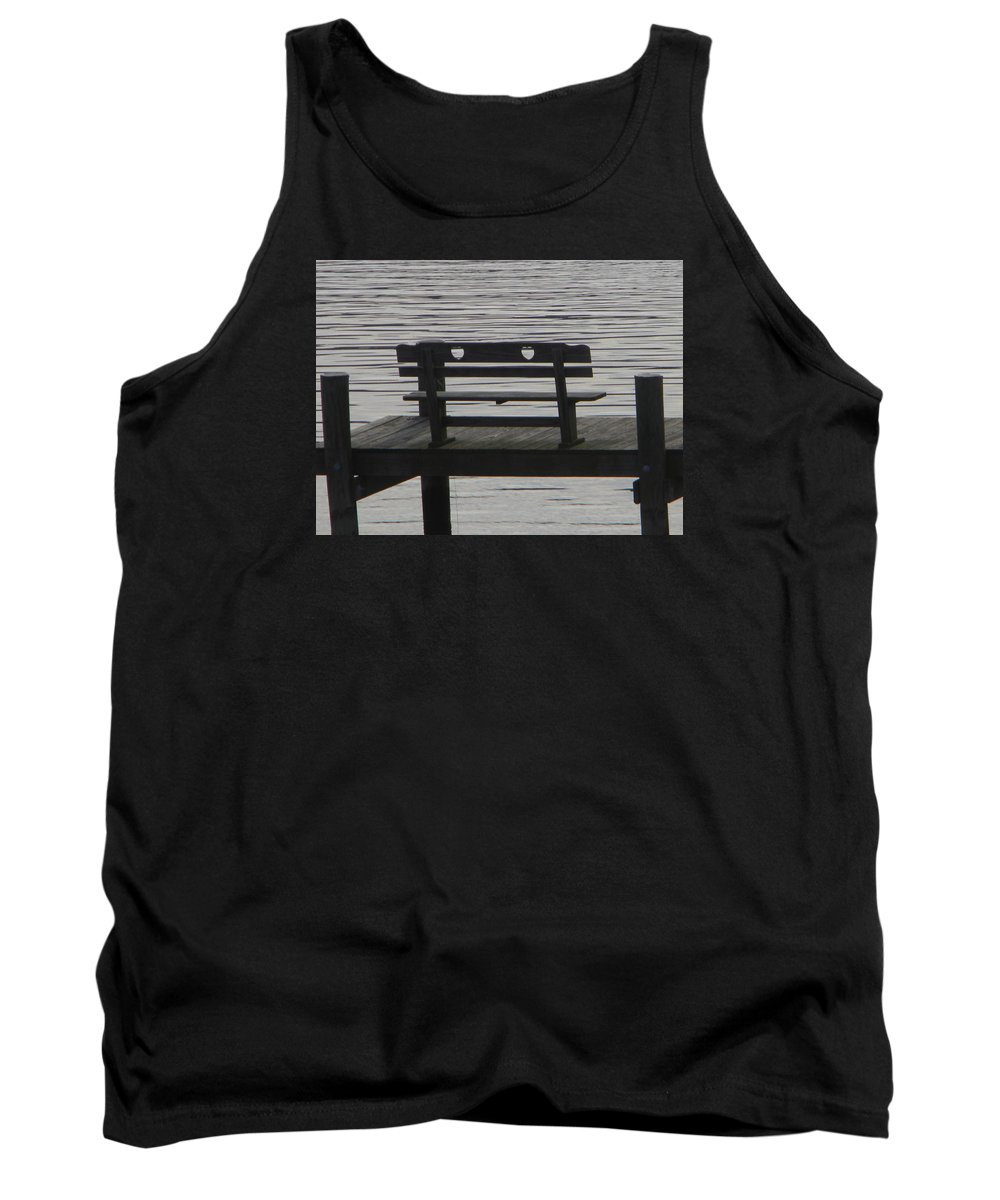 Love Tank Top featuring the photograph Love Bench by Darin Bokeno