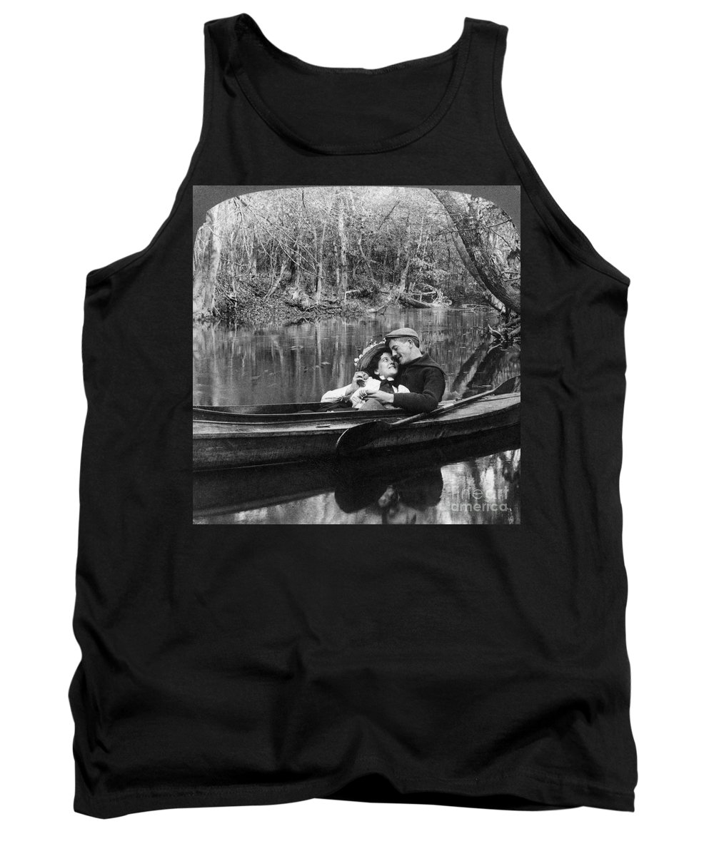 1900 Tank Top featuring the photograph Love, C1900 by Granger
