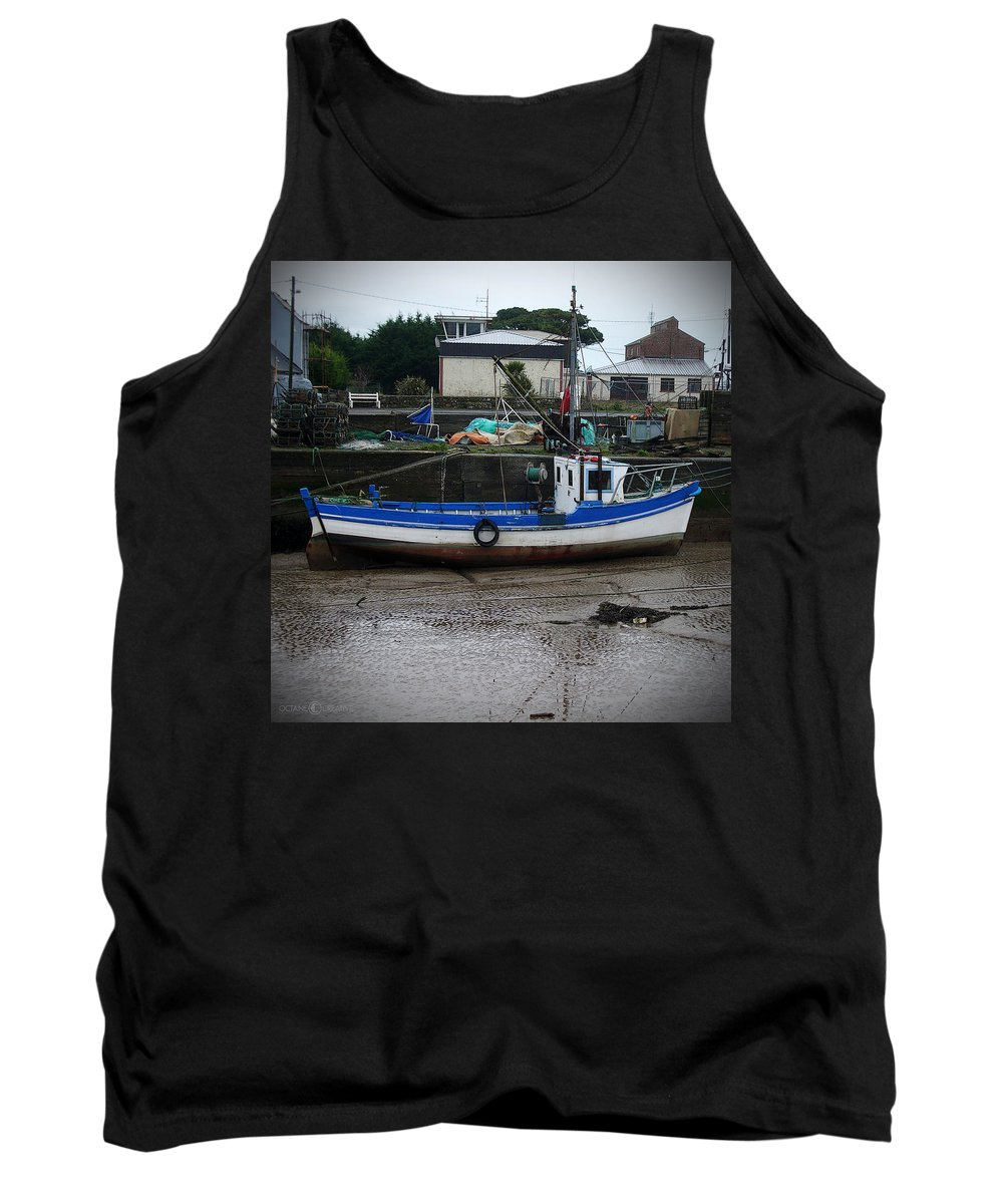 Boat Tank Top featuring the photograph Low Tide by Tim Nyberg
