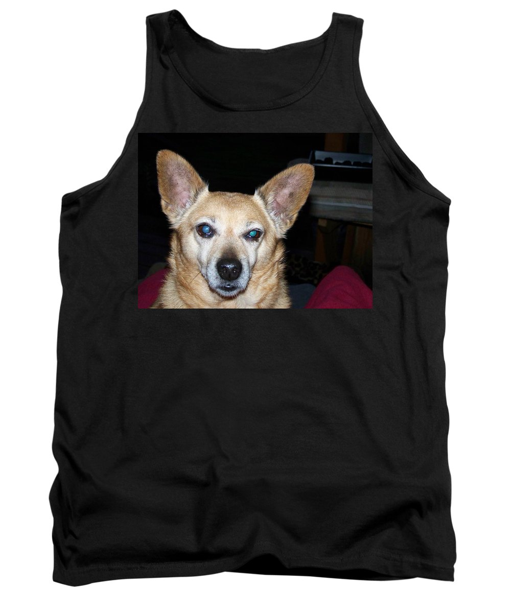 Digital Artwork Tank Top featuring the photograph Loyalty by Laurie Kidd