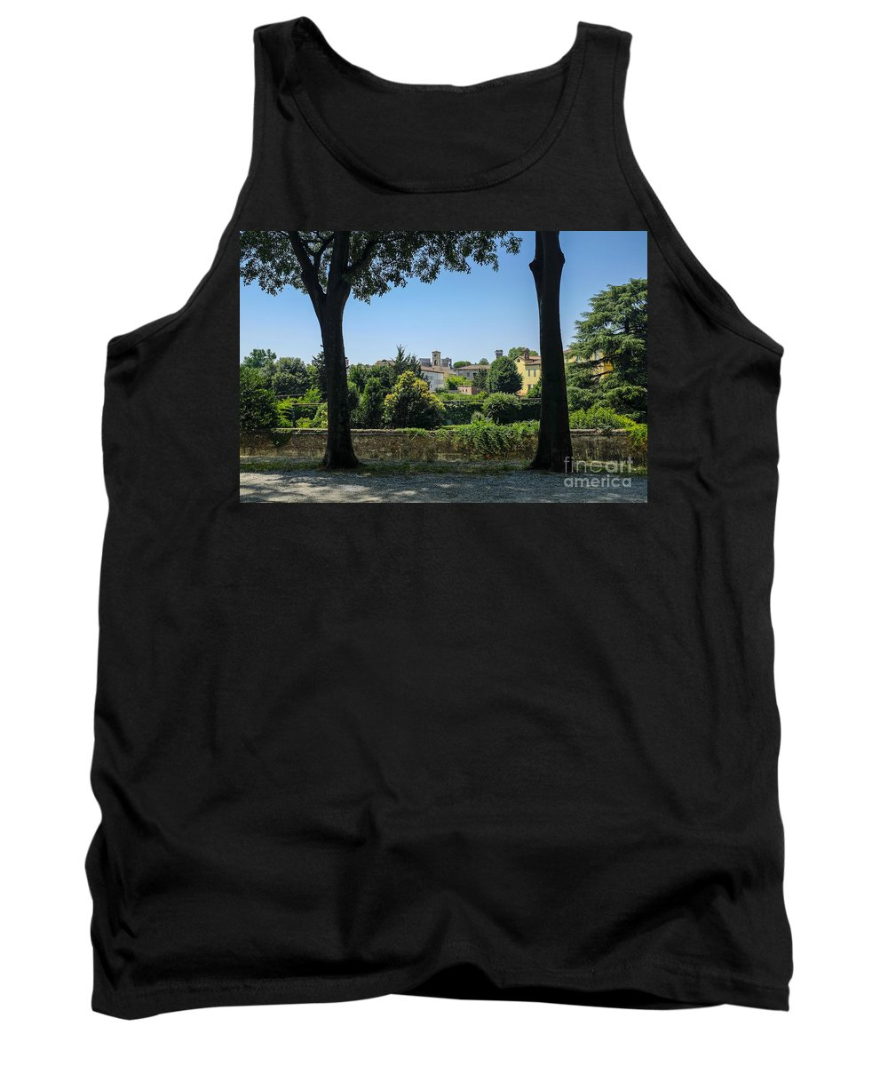 Wall Tank Top featuring the photograph Lucca Italy by Edward Fielding