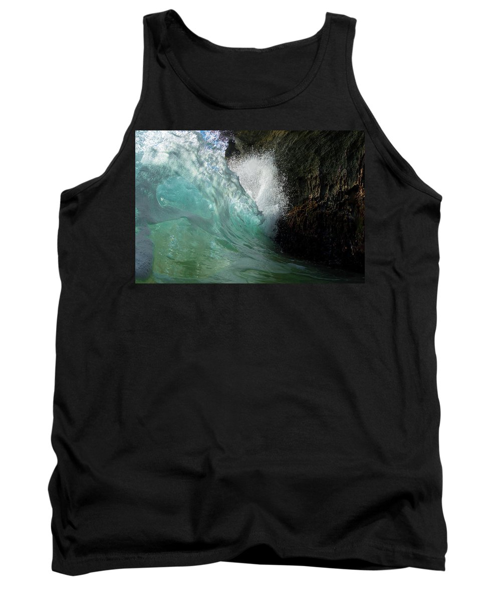 Water Tank Top featuring the photograph Luminosity by Sean Davey