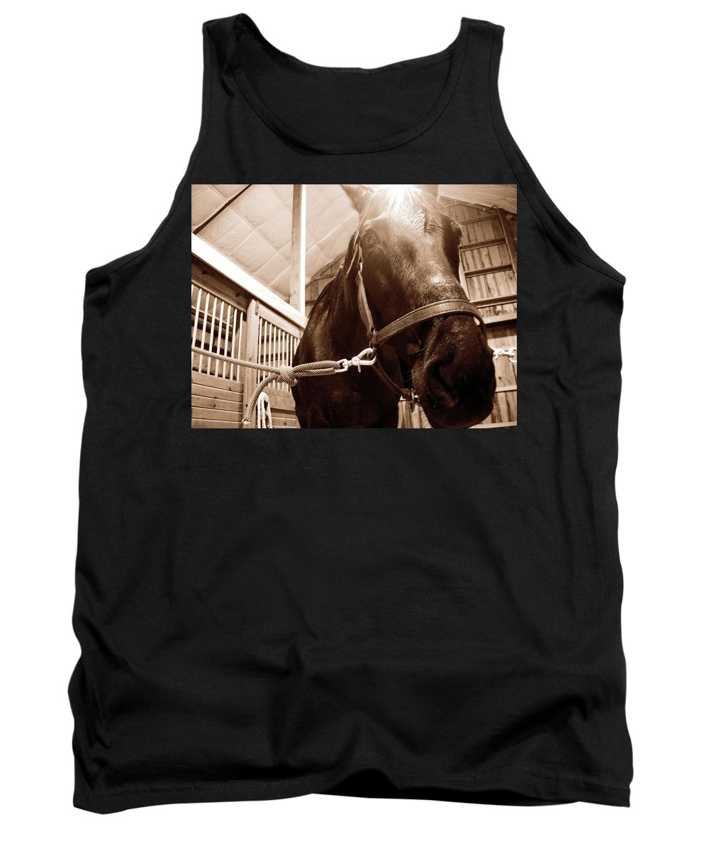 Spring Tank Top featuring the photograph Macy by Julia Raddatz