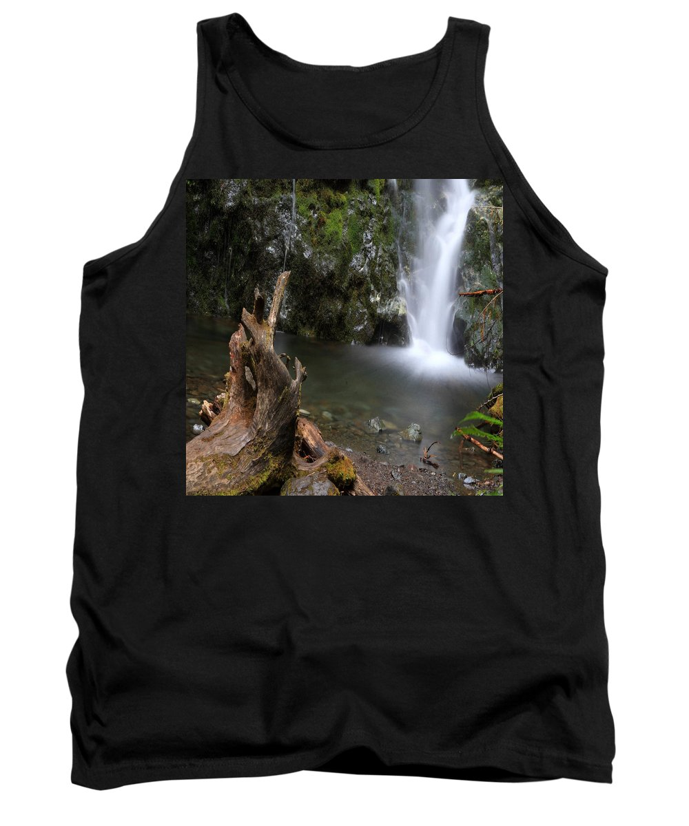 Columbia Gorge Tank Top featuring the photograph Madison Falls 3 by Ingrid Smith-Johnsen