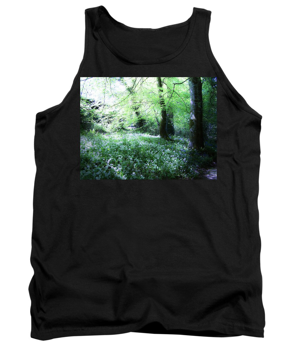Irish Tank Top featuring the photograph Magical Forest At Blarney Castle Ireland by Teresa Mucha