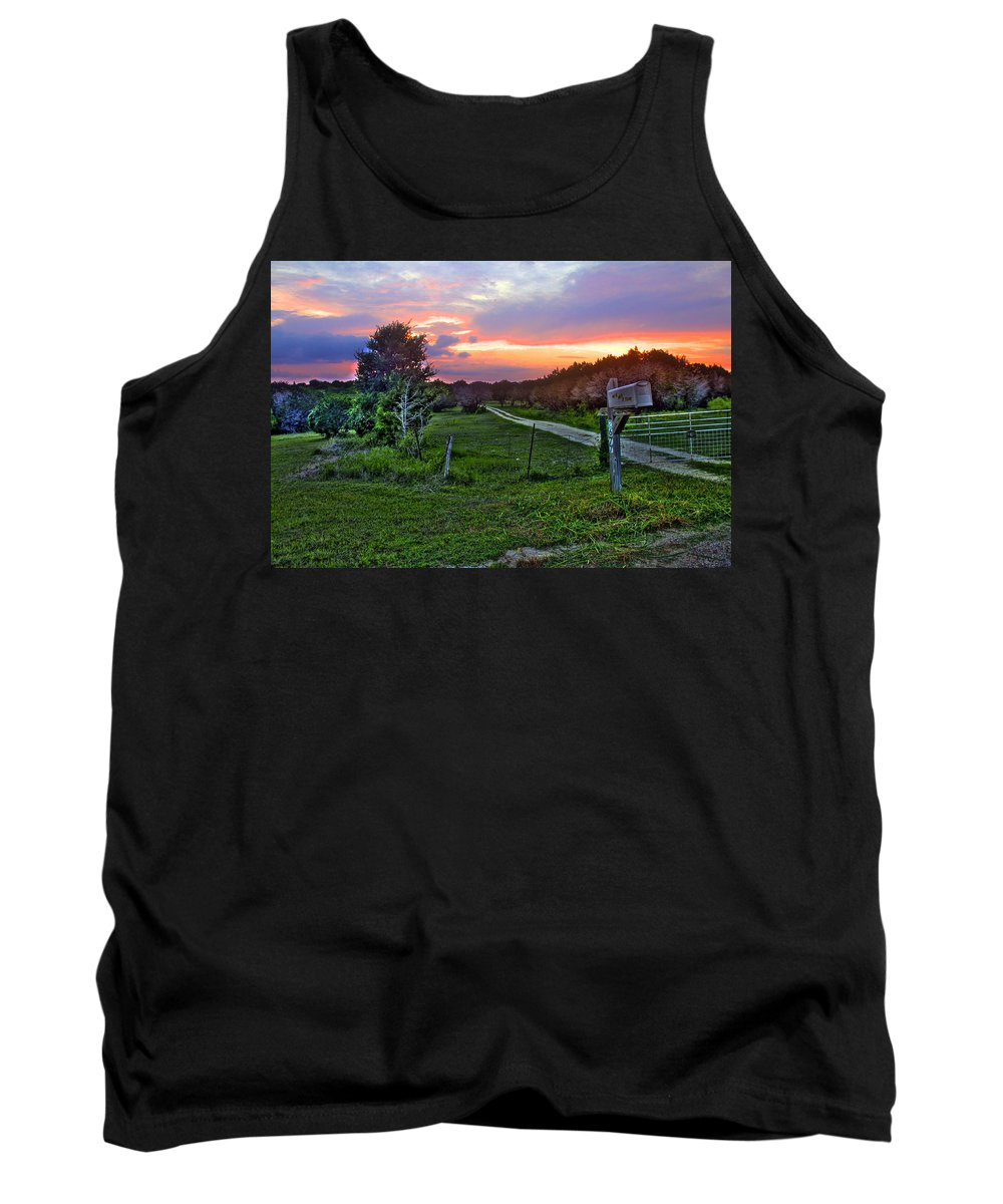 Mailbox Tank Top featuring the photograph Mailbox by Francisco Colon