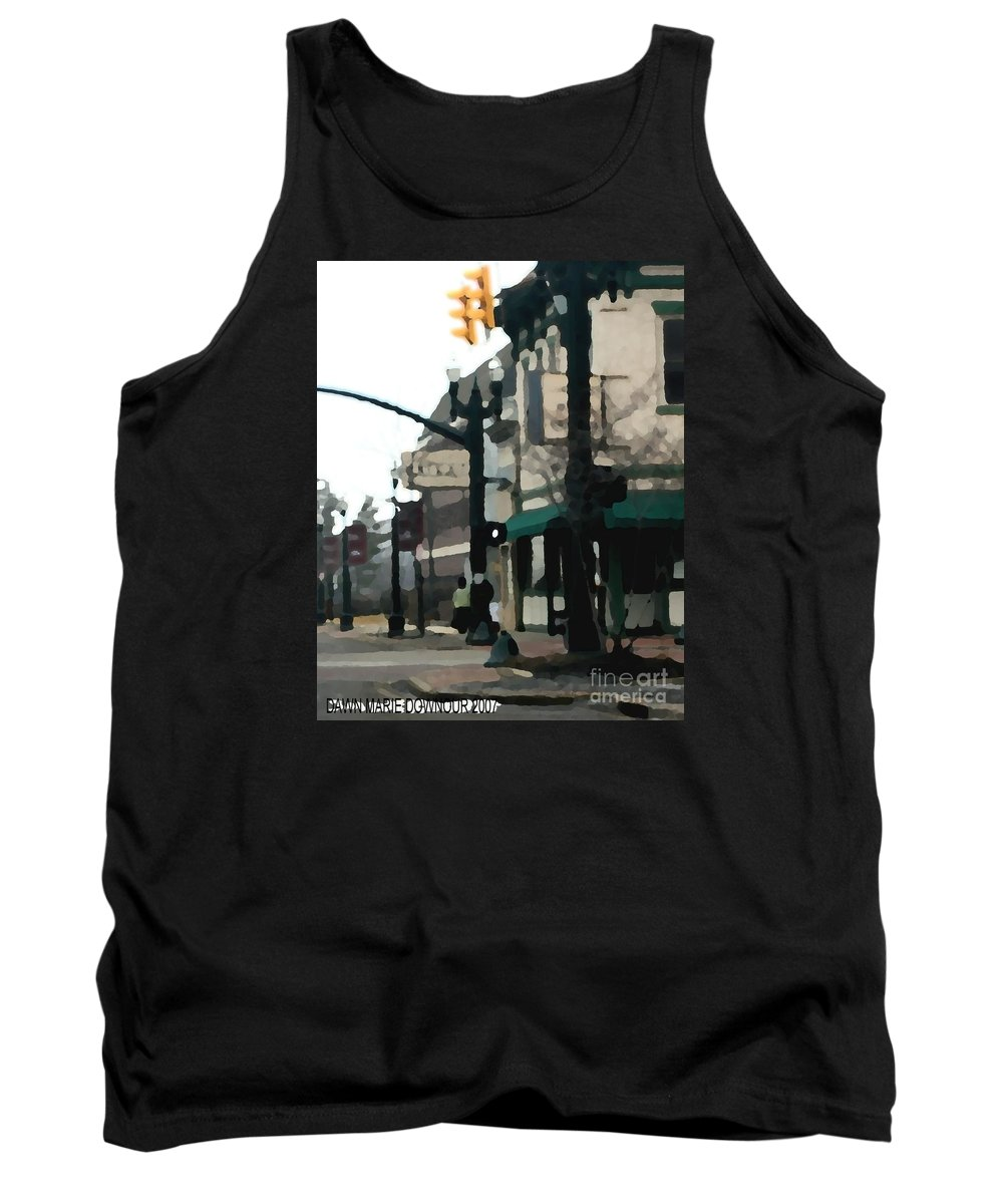 Landscape Tank Top featuring the photograph Main Street by Dawn Downour