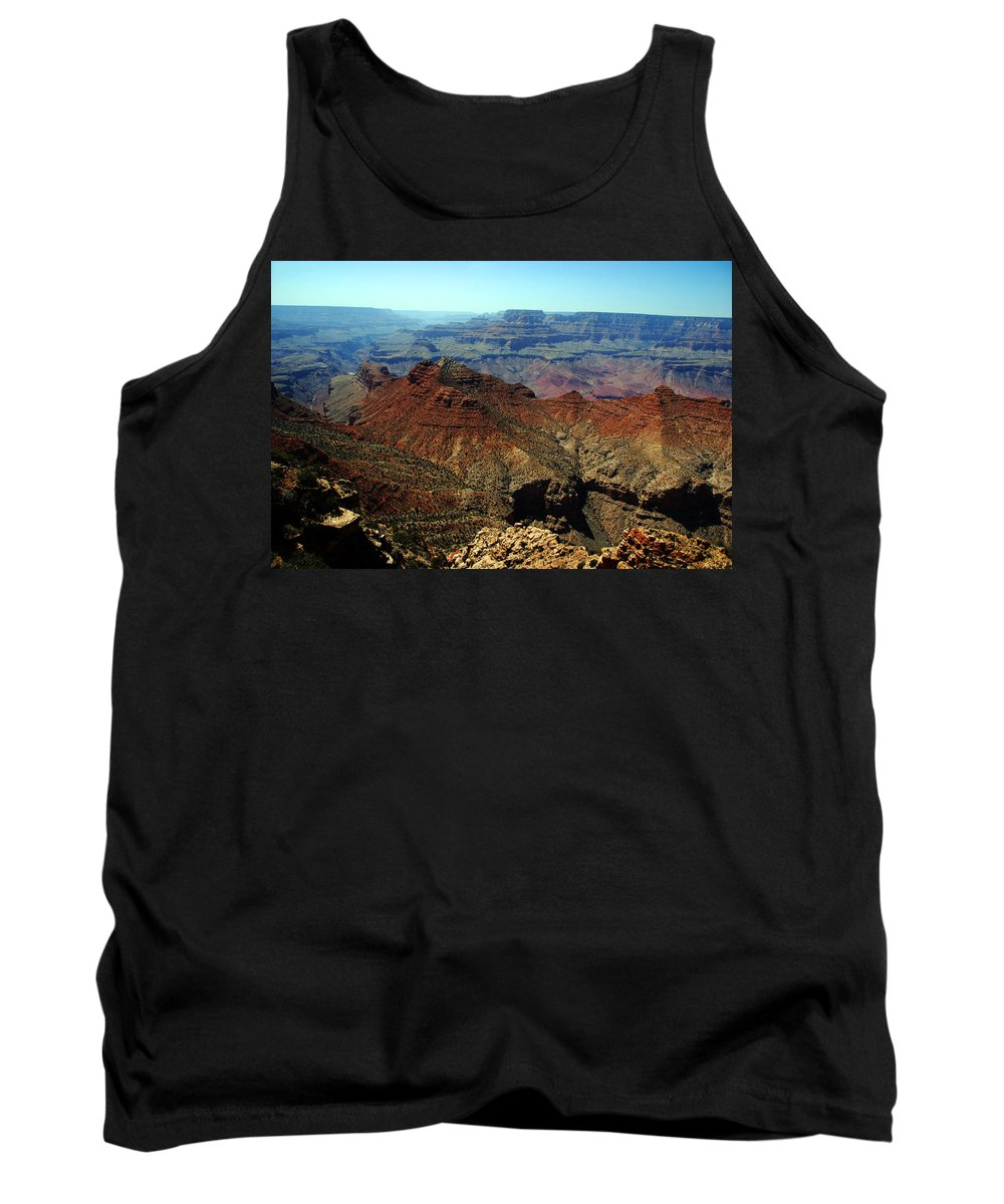 Grand Canyon Tank Top featuring the photograph Majestic View by Susanne Van Hulst
