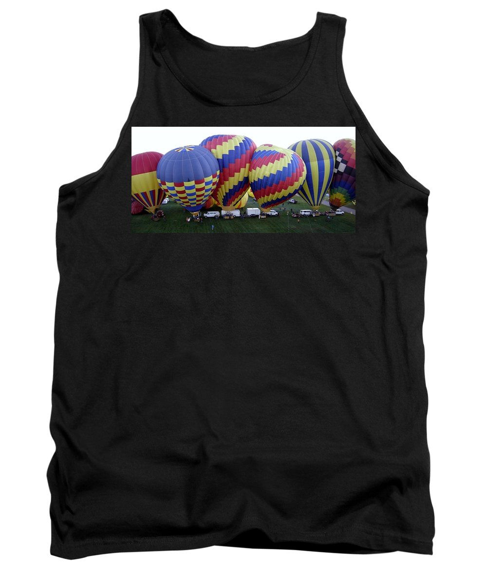 Hot Air Balloons Tank Top featuring the photograph Many Balloons by Mary Rogers