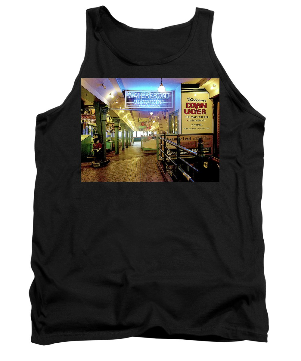 Market Tank Top featuring the photograph Market Hall by Linda Carruth