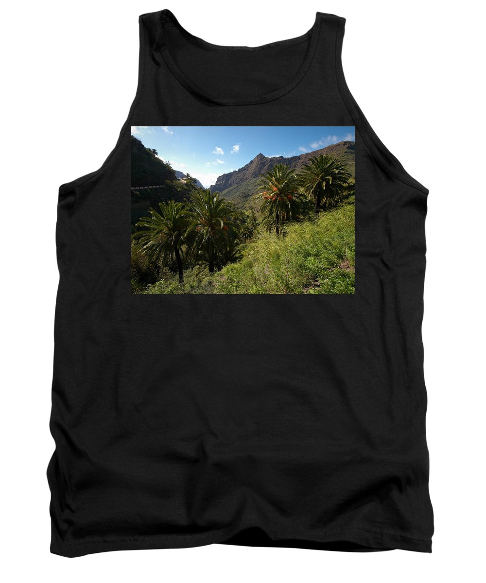 Landscape Tank Top featuring the photograph Masca Valley And Parque Rural De Teno 2 by Jouko Lehto