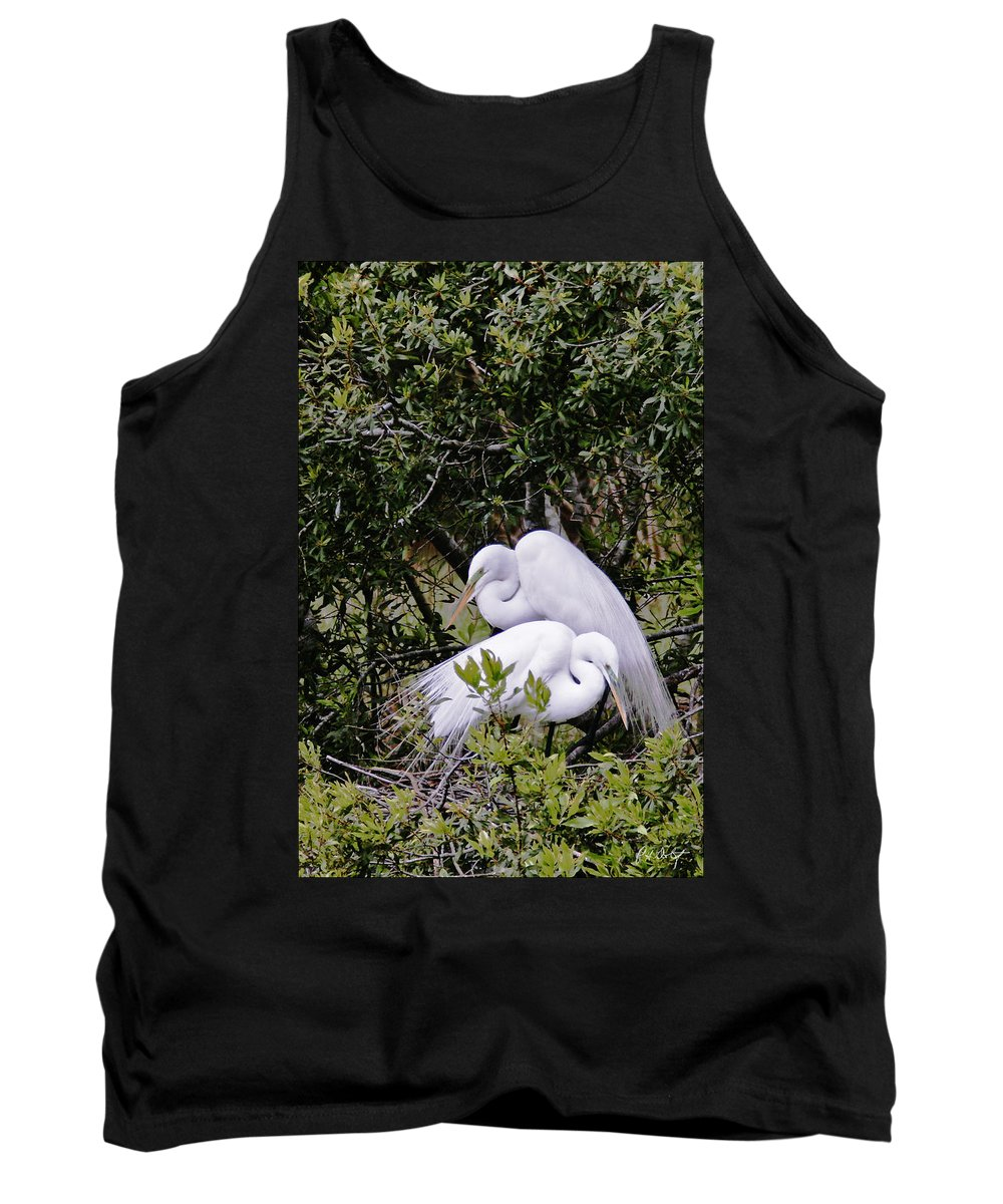 Bird Tank Top featuring the photograph Mating Season by Phill Doherty