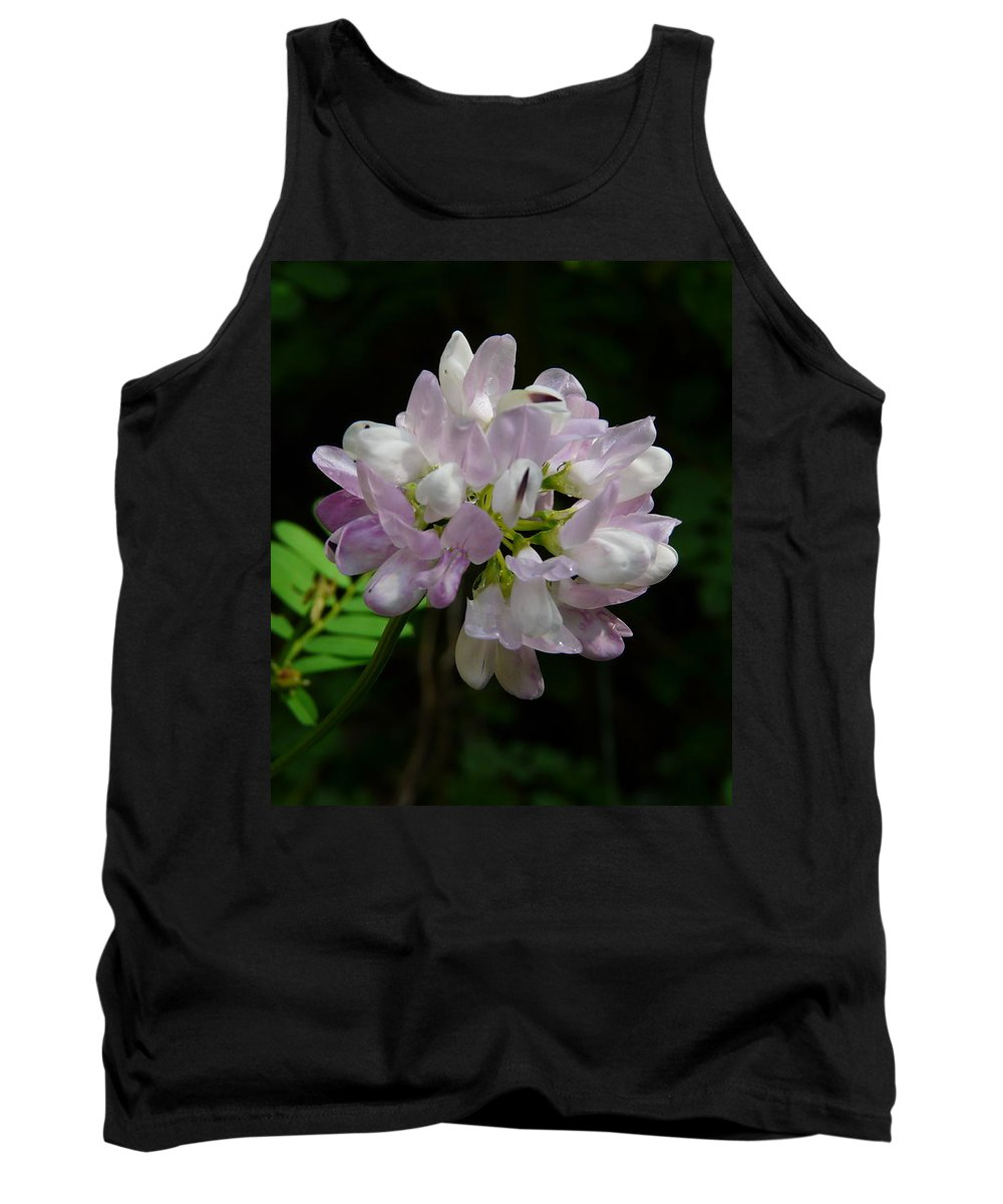 Flower Tank Top featuring the photograph Mauve Flower by Valerie Ornstein