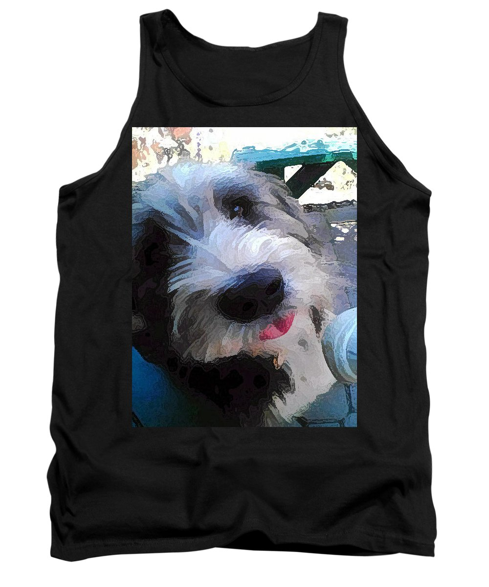 Max Tank Top featuring the photograph Max by Carol Eliassen