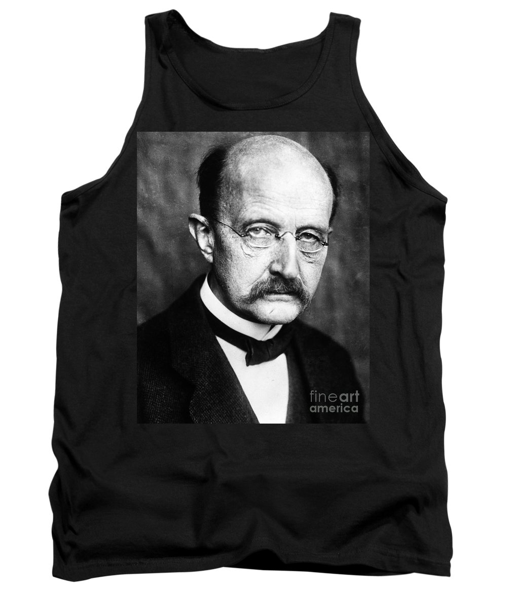 1929 Tank Top featuring the photograph Max Planck by Granger