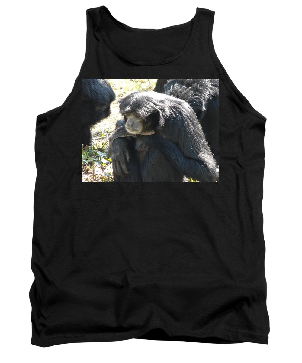 Animal Tank Top featuring the photograph Melancholy by Valerie Ornstein
