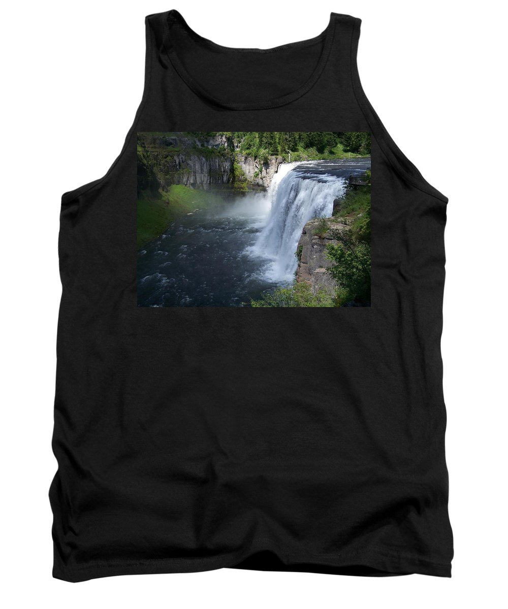 Landscape Tank Top featuring the photograph Mesa Falls by Gale Cochran-Smith