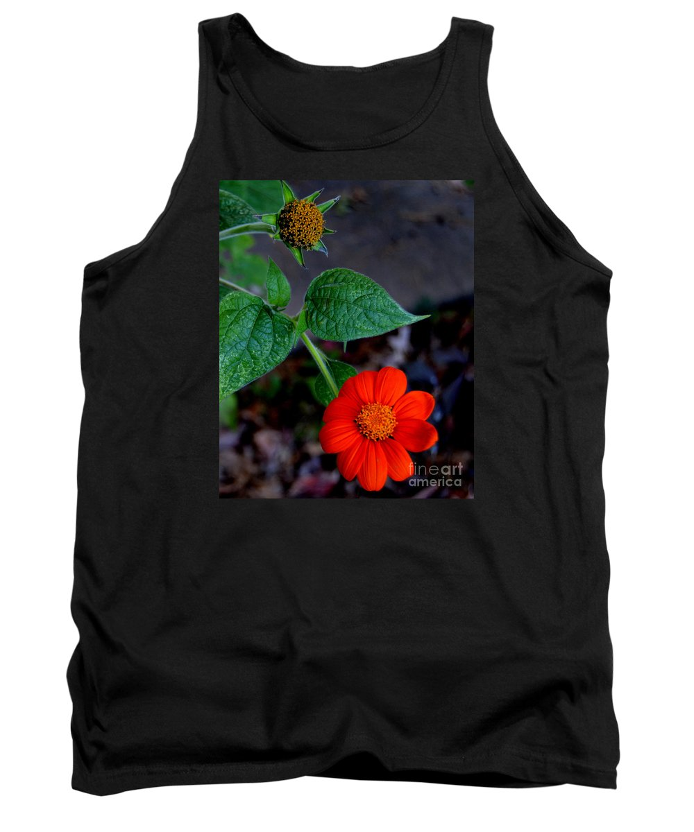 Tithonia Tank Top featuring the photograph Mexican Sunflower 2 by Belinda Stucki