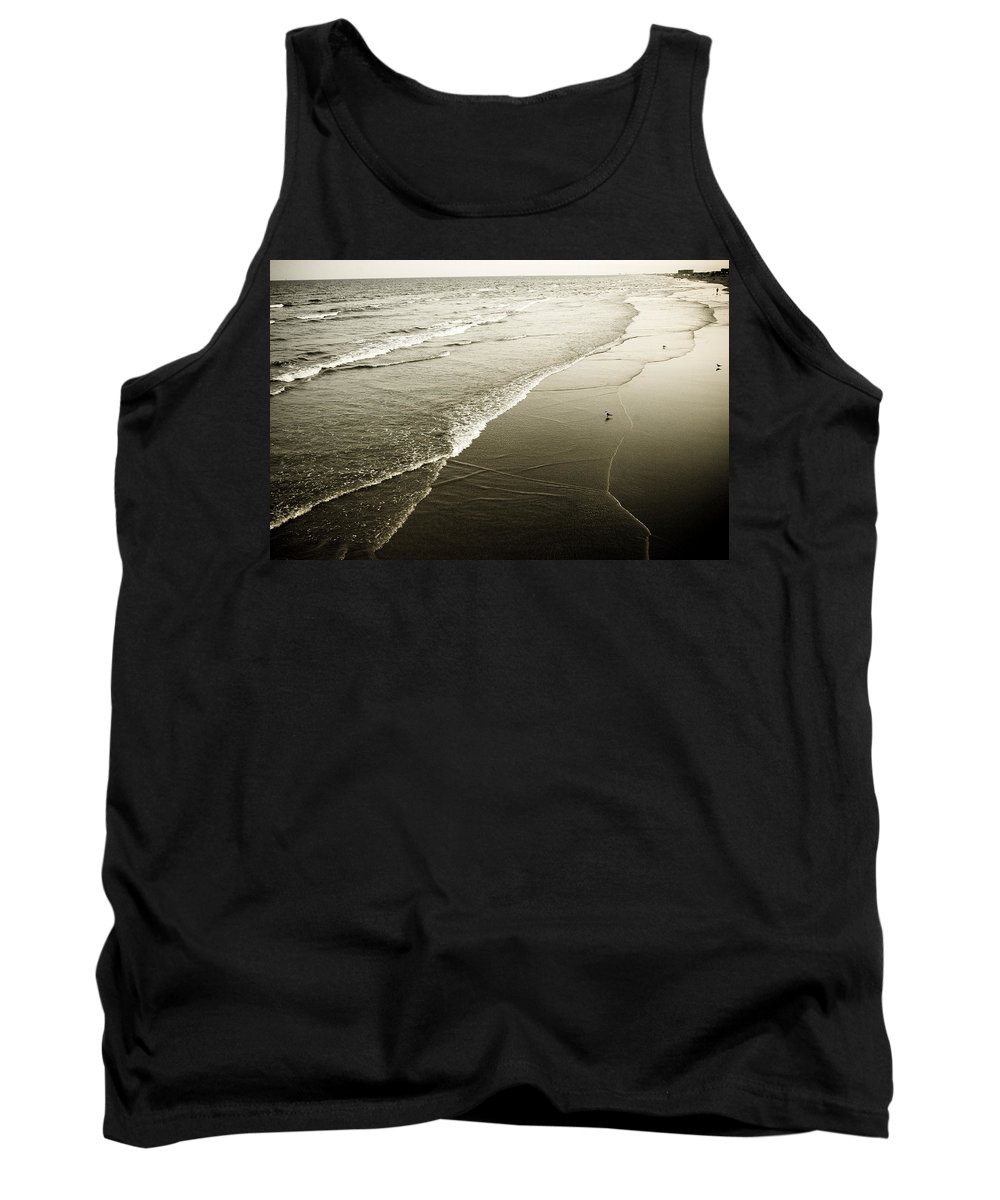 Ocean Tank Top featuring the photograph Mid-summer Morning by Marilyn Hunt