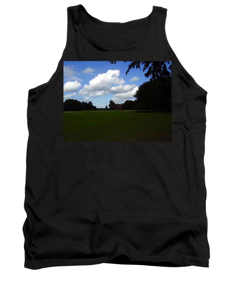 Middleton Place Tank Top featuring the photograph Middleton Place by Flavia Westerwelle