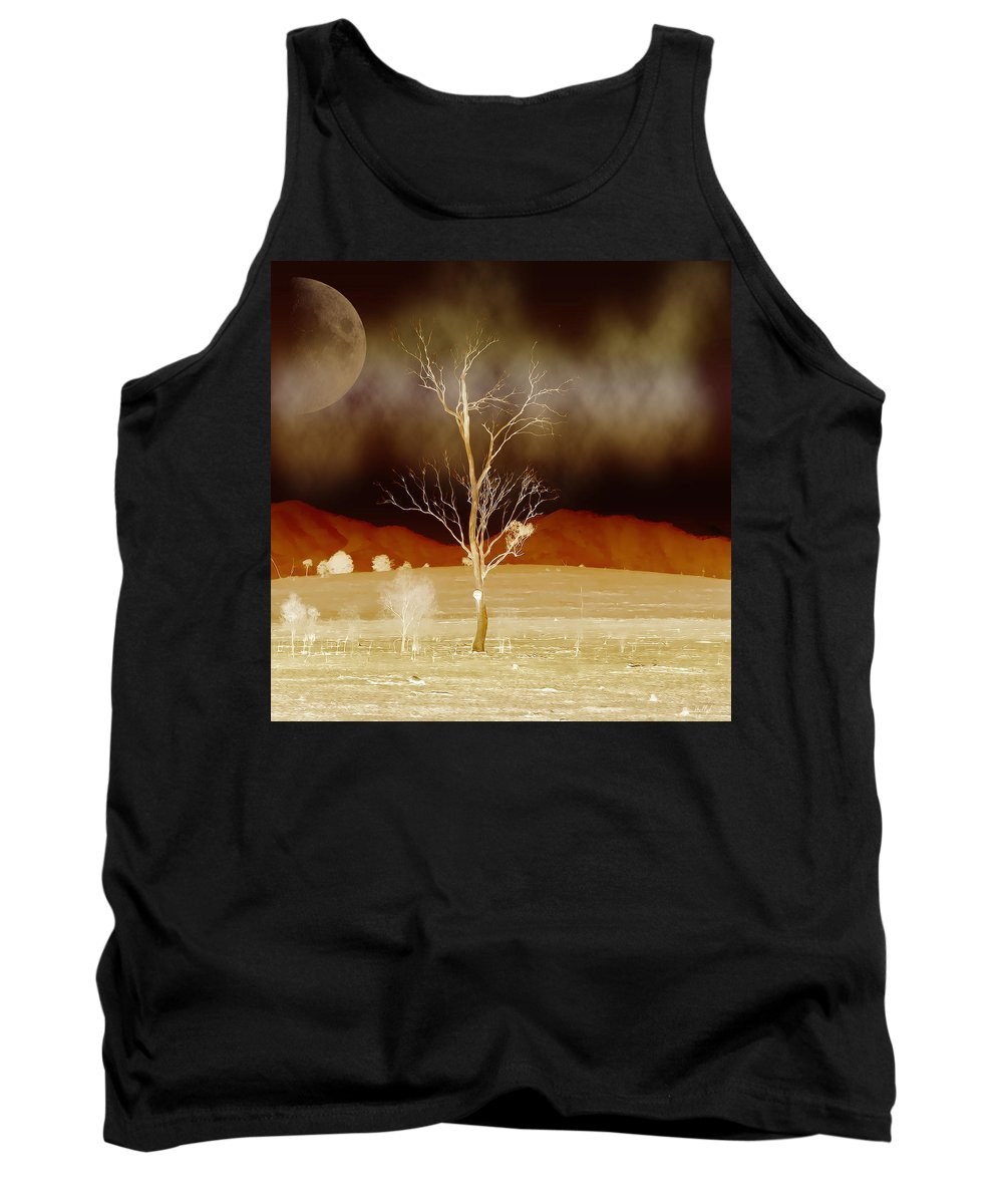 Landscapes Tank Top featuring the photograph Midnight Vogue by Holly Kempe