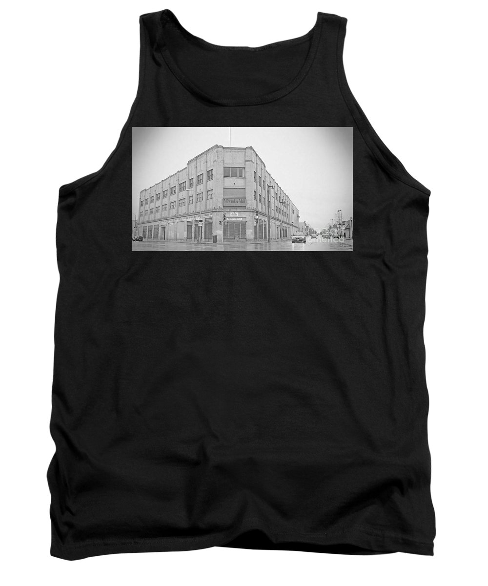 Tank Top featuring the photograph Ole Milwaukee Mall by Stanford Brookshire